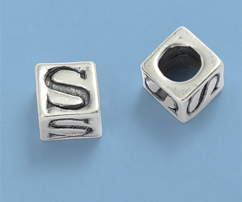 letterbeads silver
